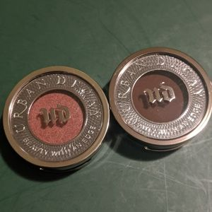 NEW - 2x Urban Decay Single Shadows (w/Palette)